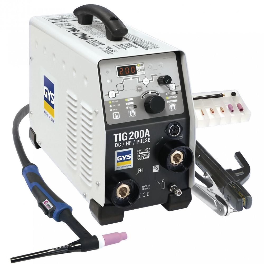 Gys GYSMI TIG 200 DC HF FV с аксессуарами