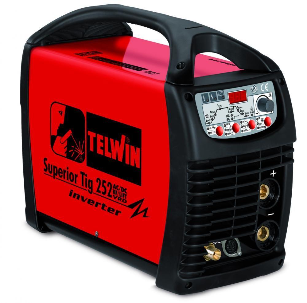 Telwin Superior TIG 252 AC/DC HF/LIFT VRD 400V