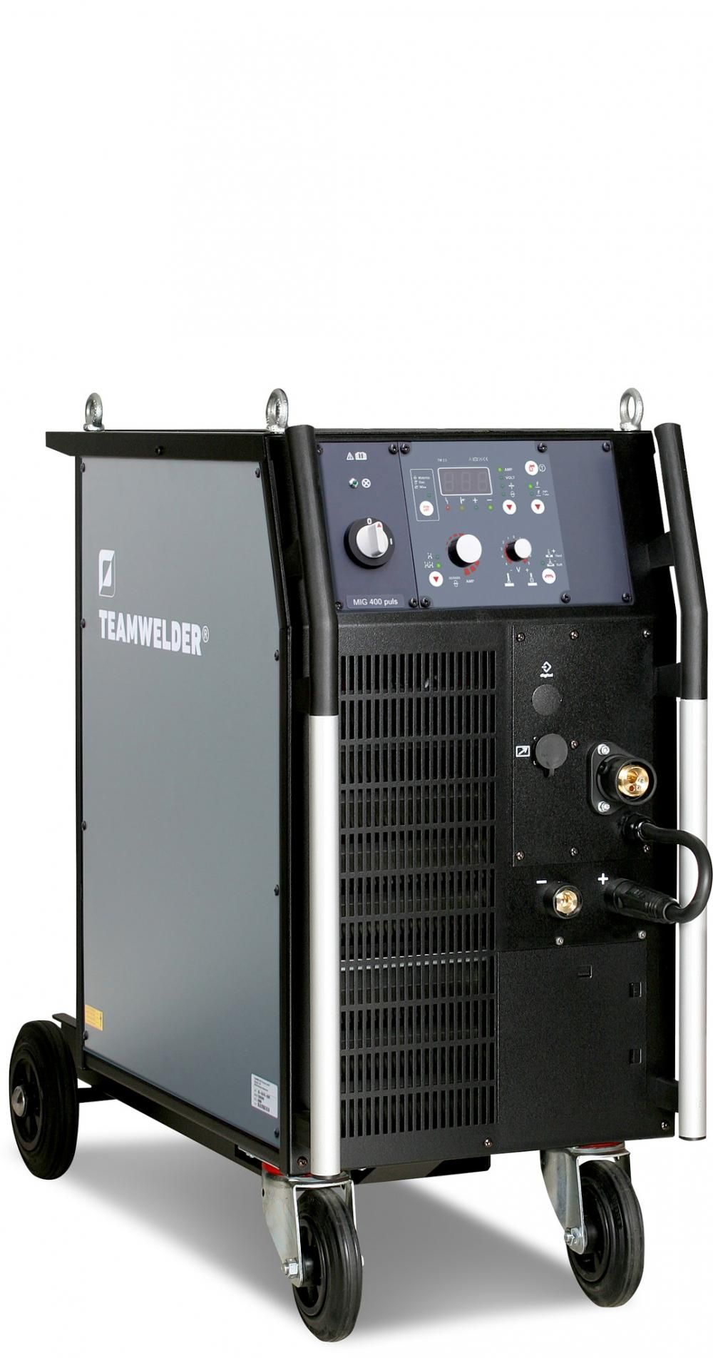 Teamwelder MIG 400 Synergic KG Pulse mono