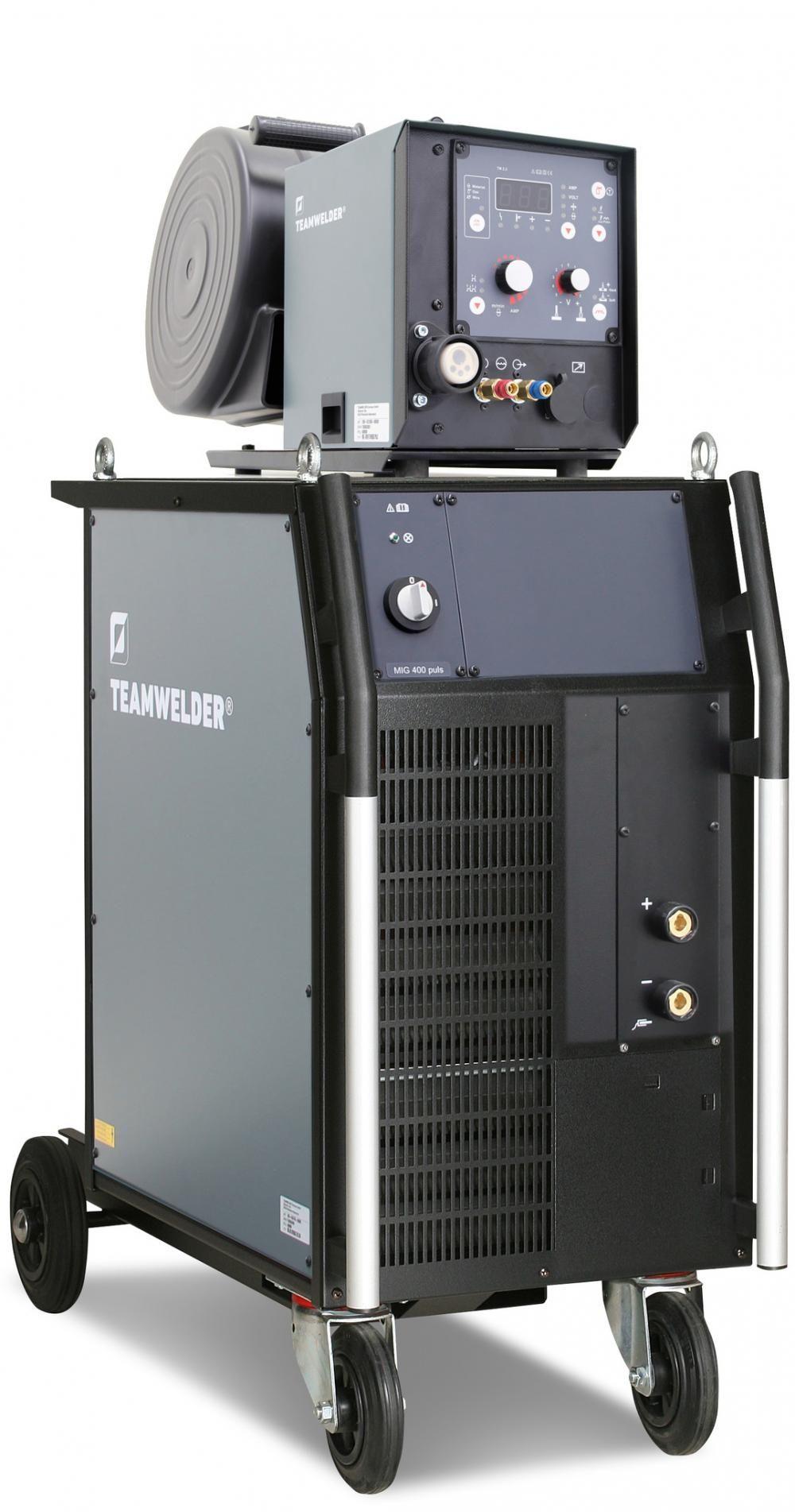 Teamwelder MIG 400 Synergic DW Pulse