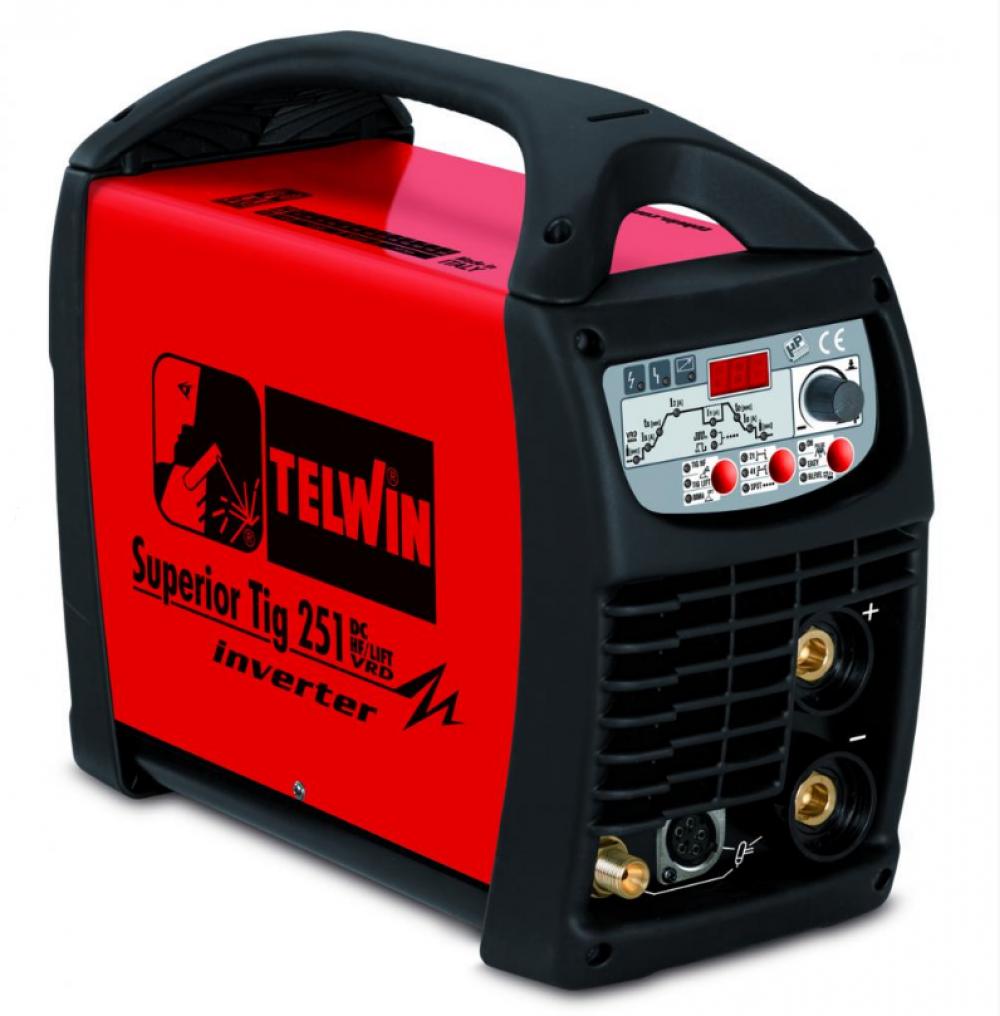 Telwin Superior TIG 251 DC-HF/LIFT VRD 400V