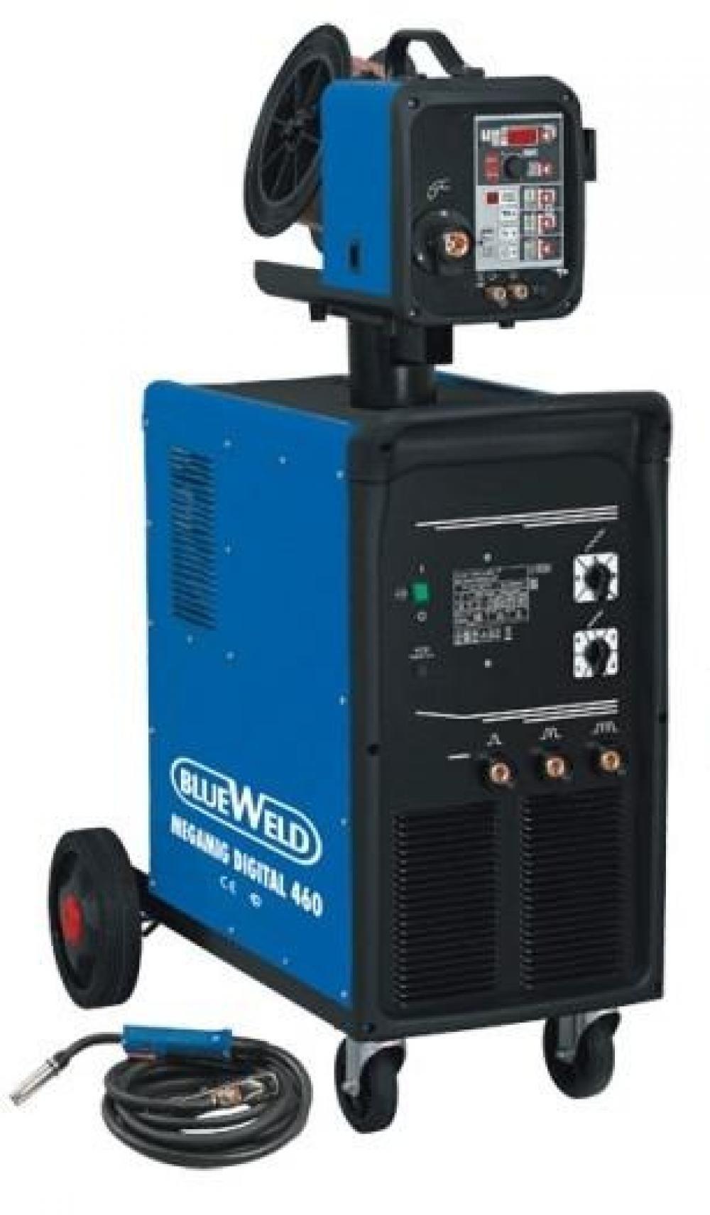 Blueweld Megamig Digital 460 с цифровым блоком подачи проволоки