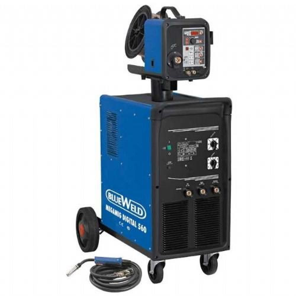 Blueweld Megamig Digital 560 R.A. с водяным охладителем и механизмом подачи проволоки