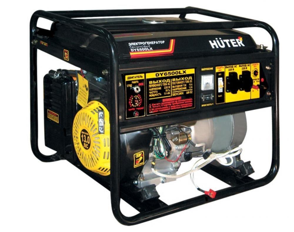 Huter DY6500LX с пультом