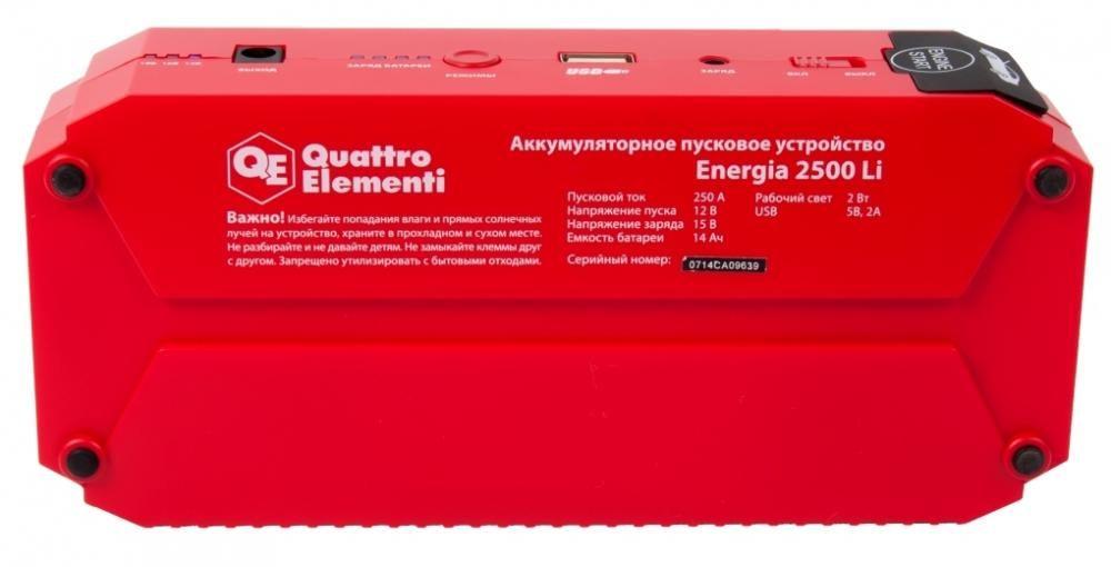 Quattro Elementi Energia 2500 Li