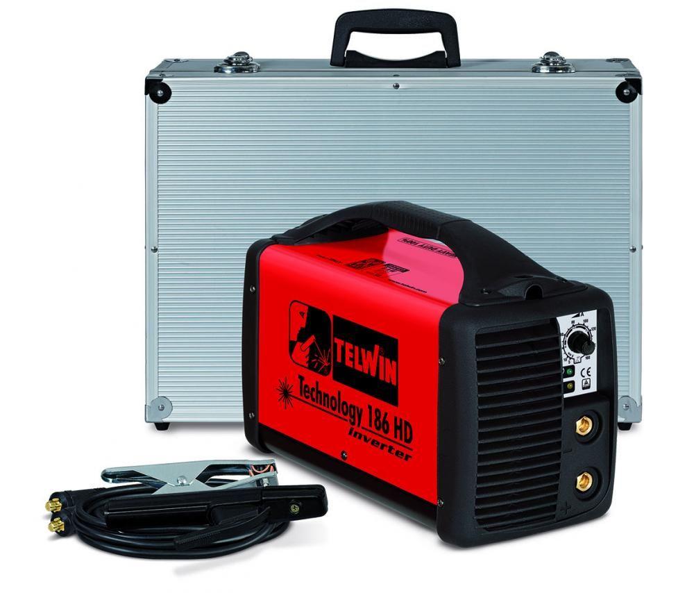 Telwin TECHNOLOGY 186 HD 230V ACX в кейсе