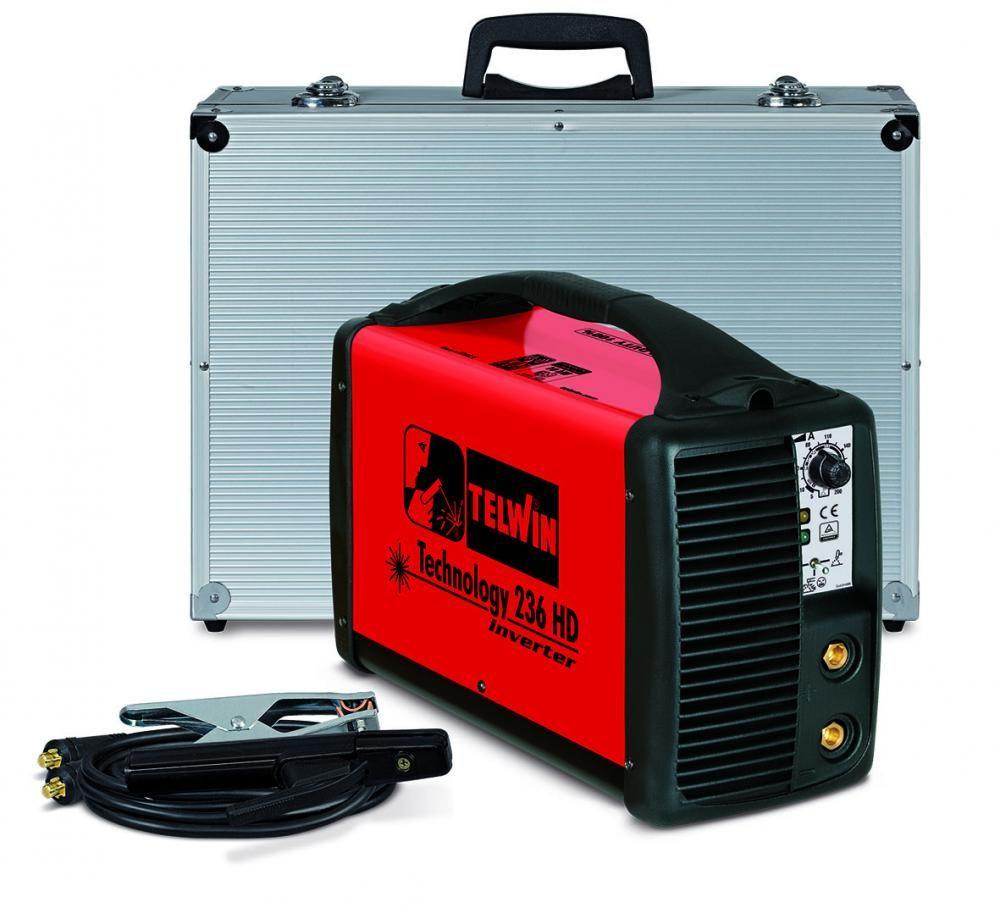 Telwin TECHNOLOGY 236 HD 230V в кейсе