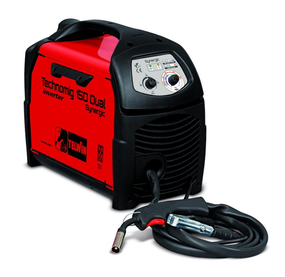 Telwin TECHNOMIG 150 DUAL SYNERGIC 230V