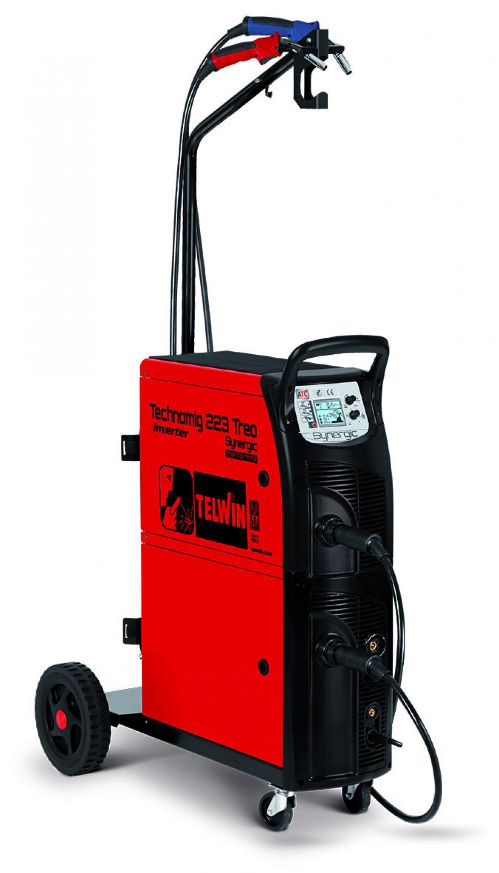Telwin TECHNOMIG 223 TREO SYNERGIC 230V