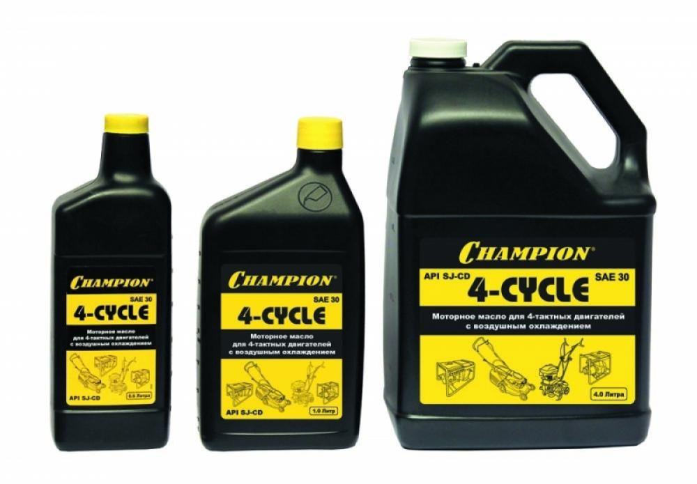 Champion Масло 4-тактное, минеральное, SAE30, (1 л)