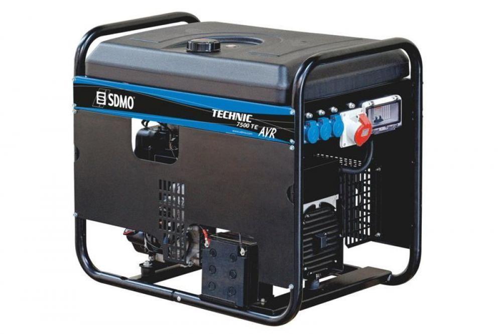 SDMO TECHNIC 7500 TE AVR