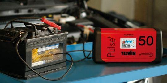 Telwin Pulse 50 230V 6V/12V/24V