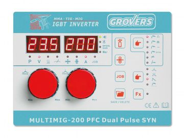 Grovers MULTIMIG 200 PFC DUAL PULSE SYN