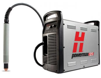 Hypertherm PowerMax 125, резак 7,6м, 380В, для автоматической резки