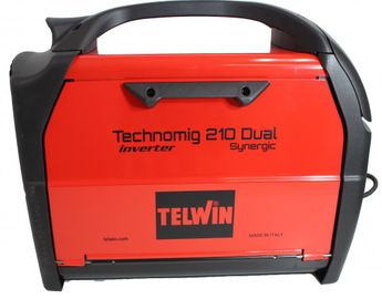 Telwin TECHNOMIG 210 DUAL SYNERGIC 230V