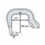 Gys Плечо типа С (С3): C clamp для INVERTER 125, DC, BP, PTI