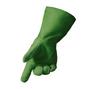 FoxWeld Краги спилковые, зеленые