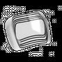 Optrel Ударопрочные (120 м/с) внешние защитные линзы для серии e600
